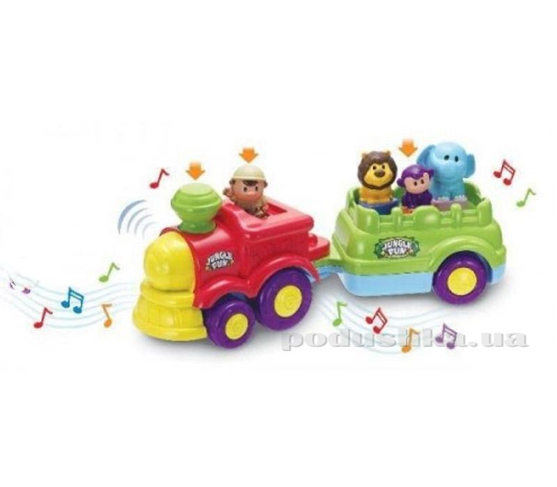 Развивающая игрушка Keenway Поезд Музыкальные джунгли