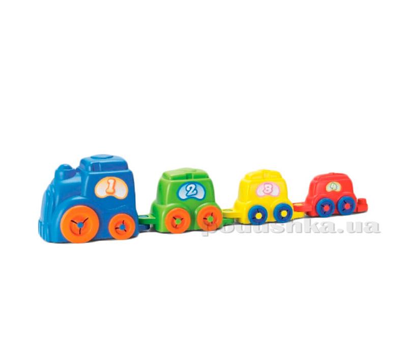 Развивающая игрушка Keenway Поезд-трансформер