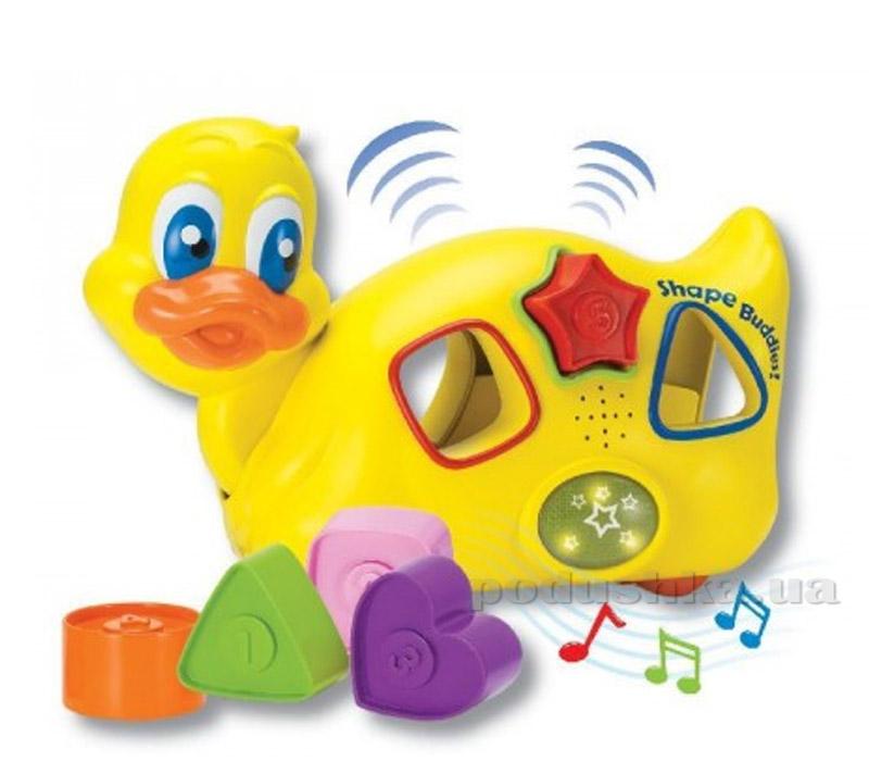 Развивающая игрушка Keenway Уточка с пазлами