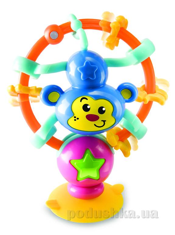 Развивающая игрушка на присоске Bkids Бодрая обезьянка 00833