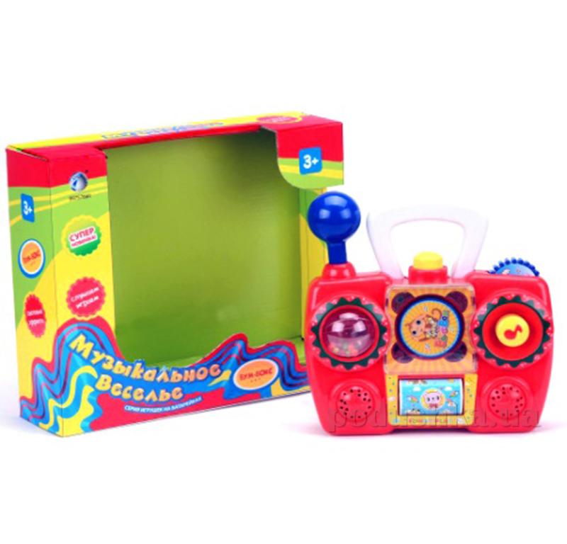 Развивающая игрушка Tongde 975788 R/008 Бум-Бокс с функцией записи