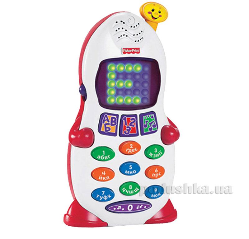 Развивающая игрушка Ученый телефон Fisher-Price на украинском языке P6004