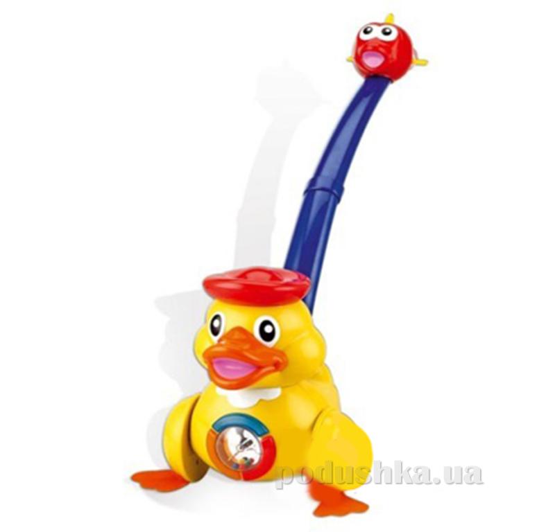 Развивающая игрушка WinFun NL Каталка Утенок 0653   WinFun