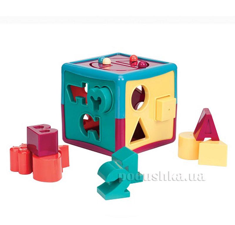 Развивающая игрушка-сортер Умный куб Battat BT2404Z
