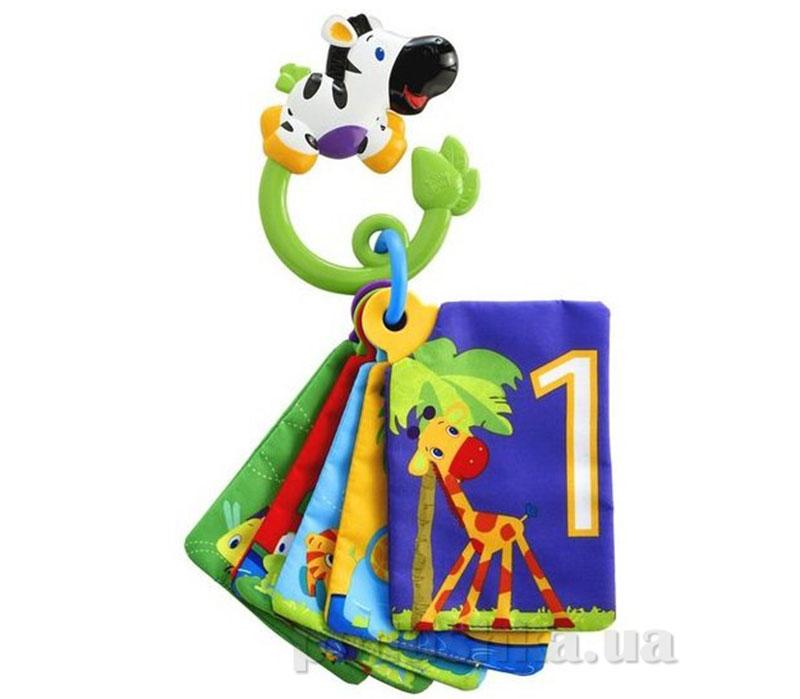 Развивающая мягкая игрушка книжка Веселое сафари Kids II