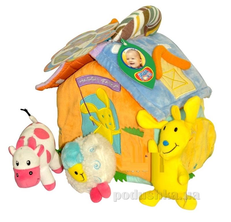 Развивающий активный домик Biba Toys Счастливая ферма 719BS