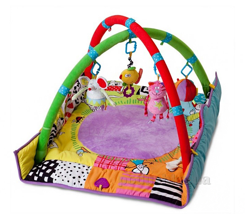 Развивающий музыкальный коврик с дугами - Кошки-Мышки Taf Toys
