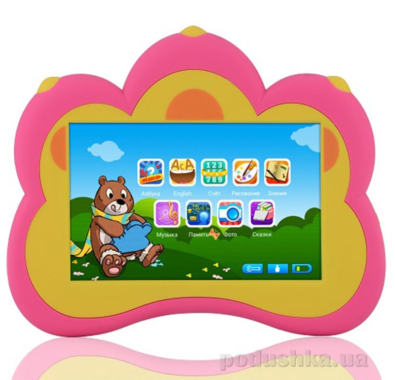 Развивающий планшетный компьютер Умный медвежонок B.B.Paw BBPAW Розовый