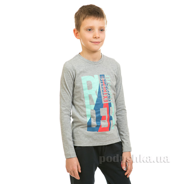 Реглан для мальчика Kids Couture 17-216 серый