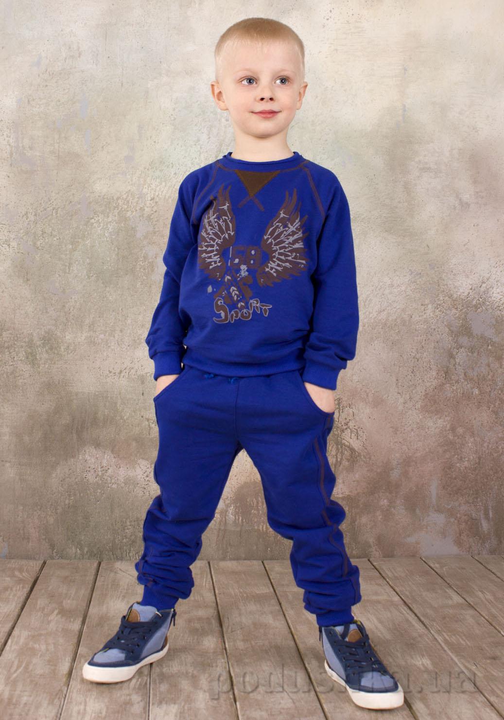 Реглан для мальчика Модный карапуз 03-00569 Ультрамарин
