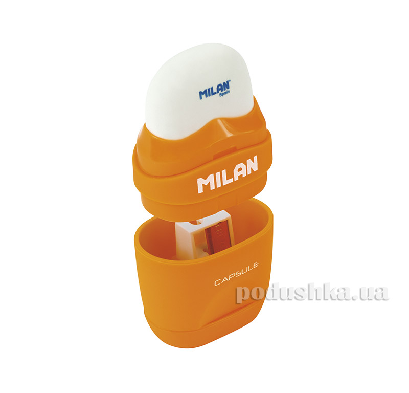 Резинка и точилка Milan Capsule Rubber Touch ml.4705116