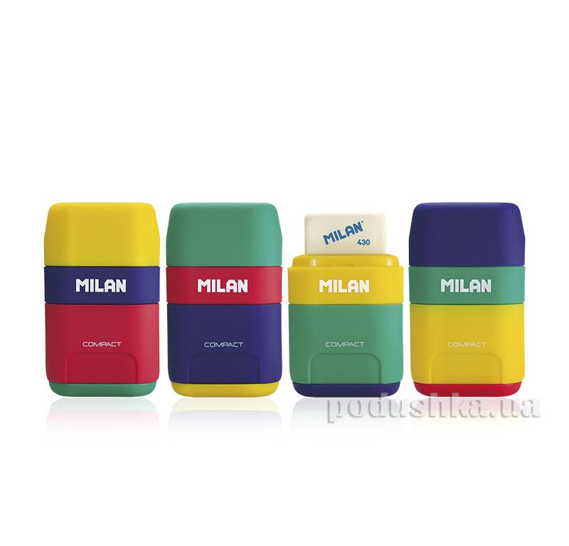 Резинка и точилка Milan Сompact Mix ml.4710236