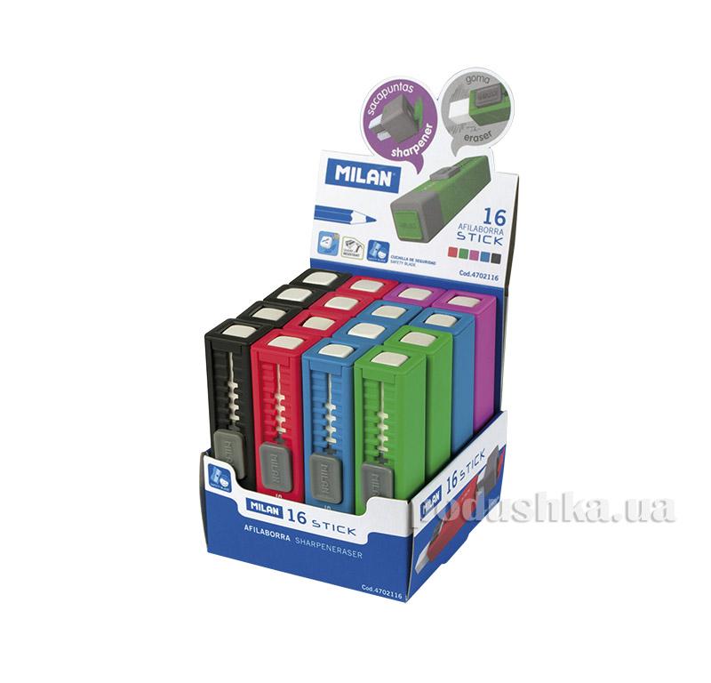 Резинка и точилка Milan Stick ml.4702116