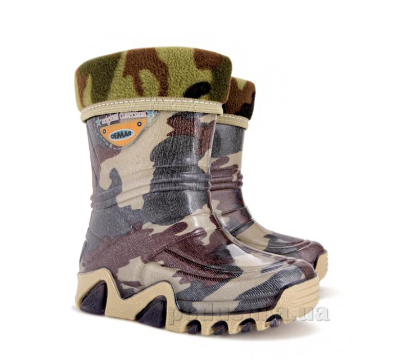Резиновые сапожки Demar Stormic Lux Военные