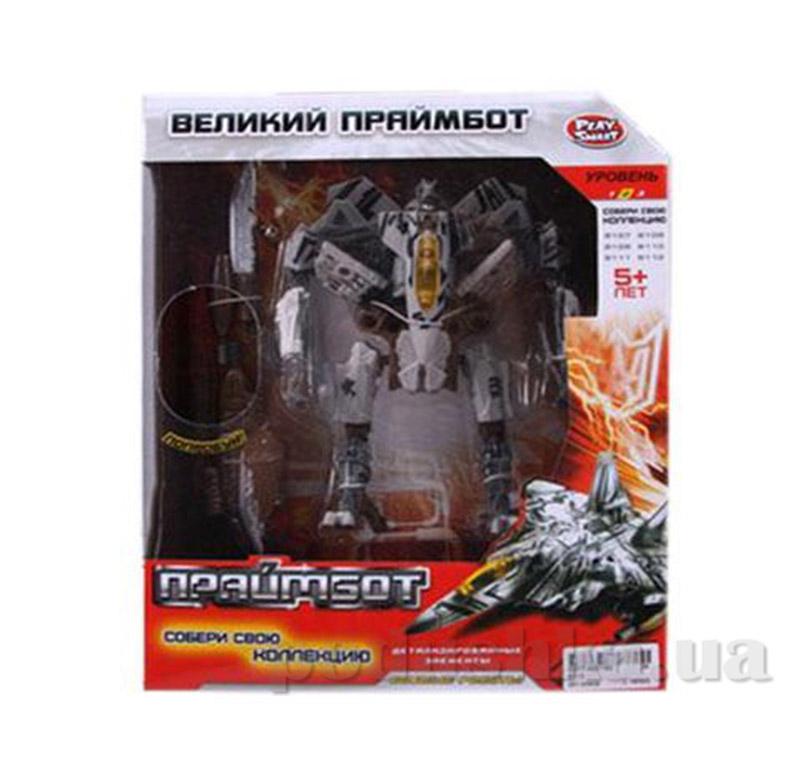Робот-трансформер Праймбот Bambi H 606/8112 истребитель