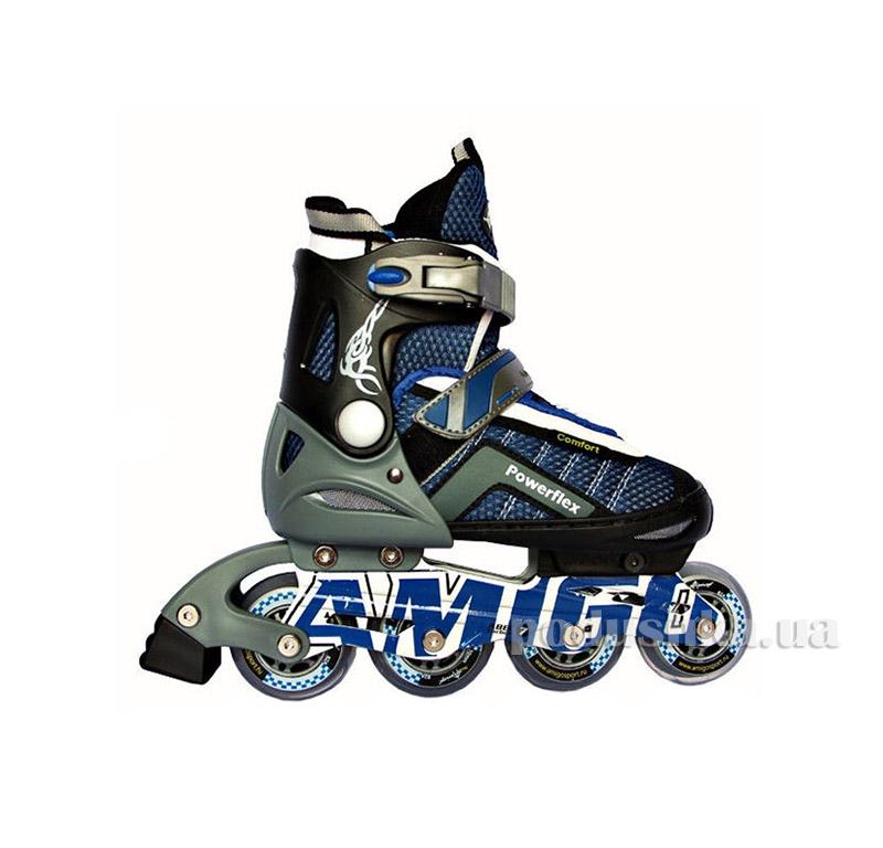 Ролики Amigosport Powerflex M3 Синий