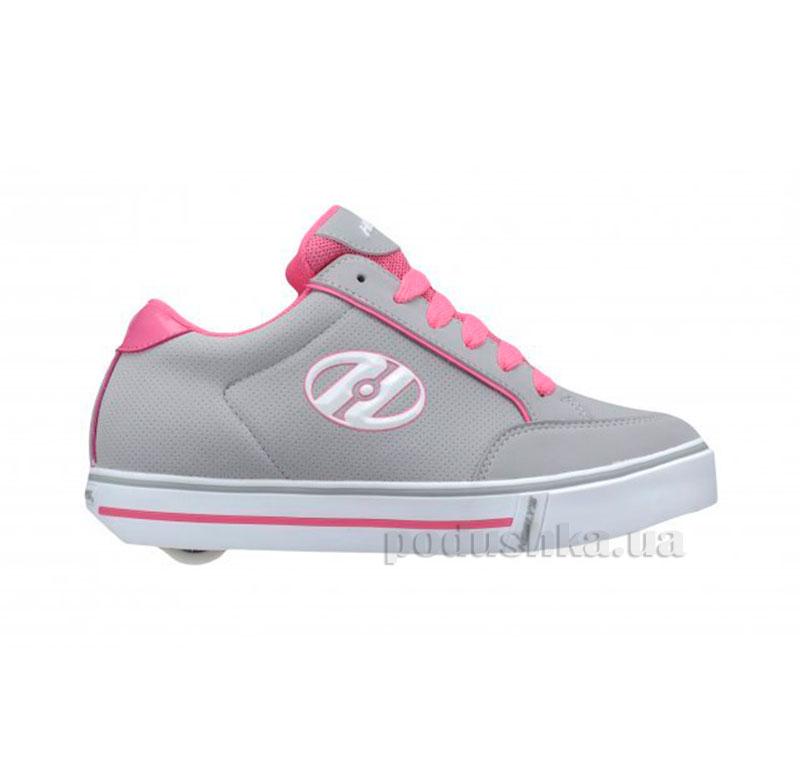 Роликовые кеды Wave Heelys розовые