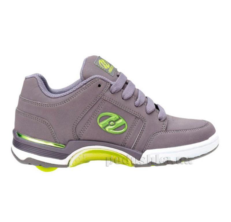 Роликовые кроссовки Chrome PRO Heelys серые