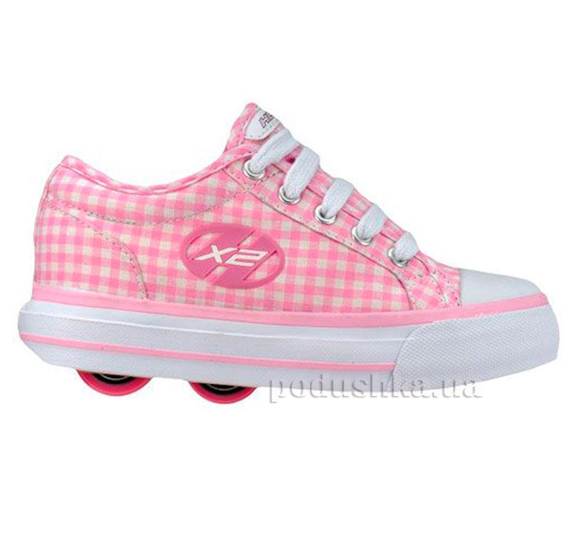 Роликовые кроссовки Jazzy NX2 Heelys розовые