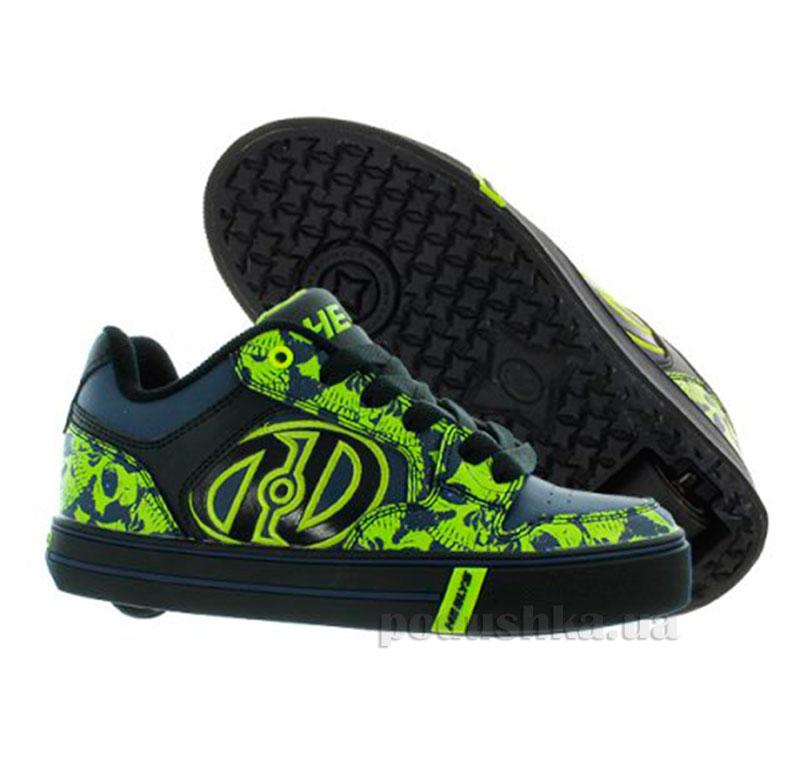Роликовые кроссовки Motion Plus Heelys черные