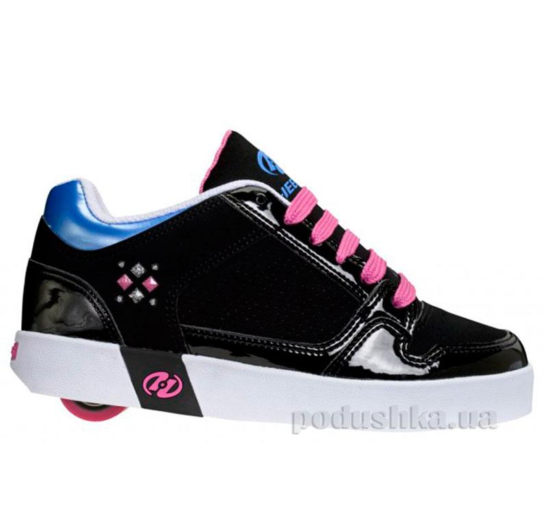 Роликовые кроссовки Street Lo Heelys черные