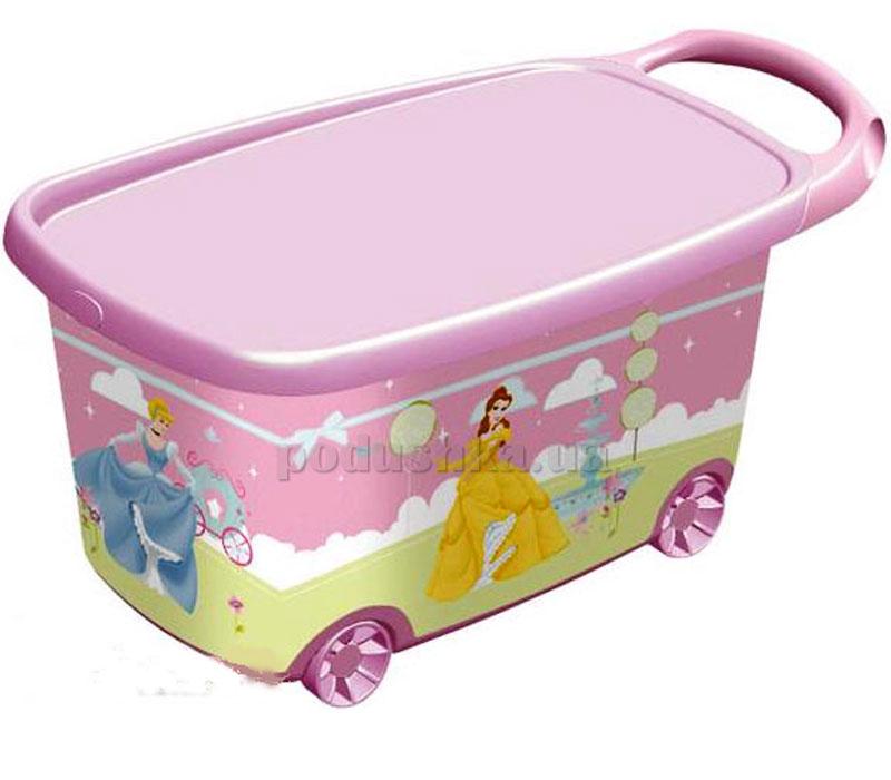 Роллер - ящик на колесах принцессы Curver 04170-Р