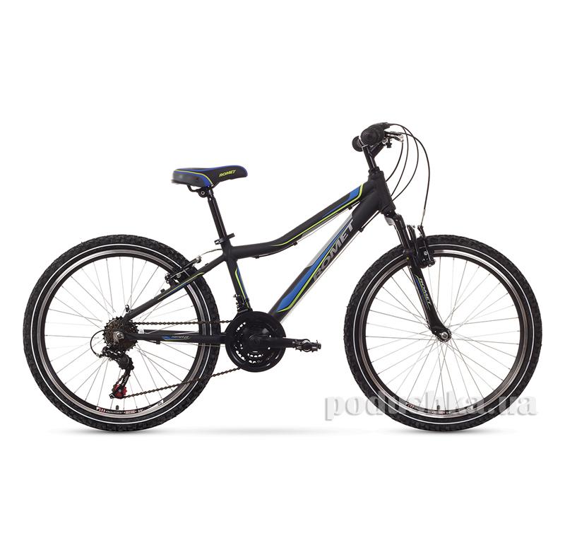 Romet Rambler 24 черный с голубым 1524031