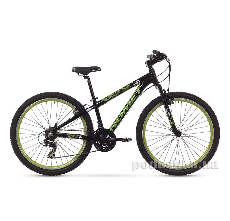 Romet Rambler Dirt 26 черно-зеленый 1526039