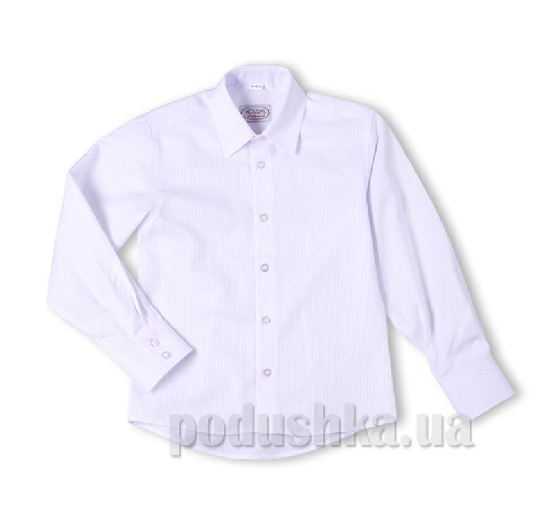 Рубашка белая в полоску Юность 830-3