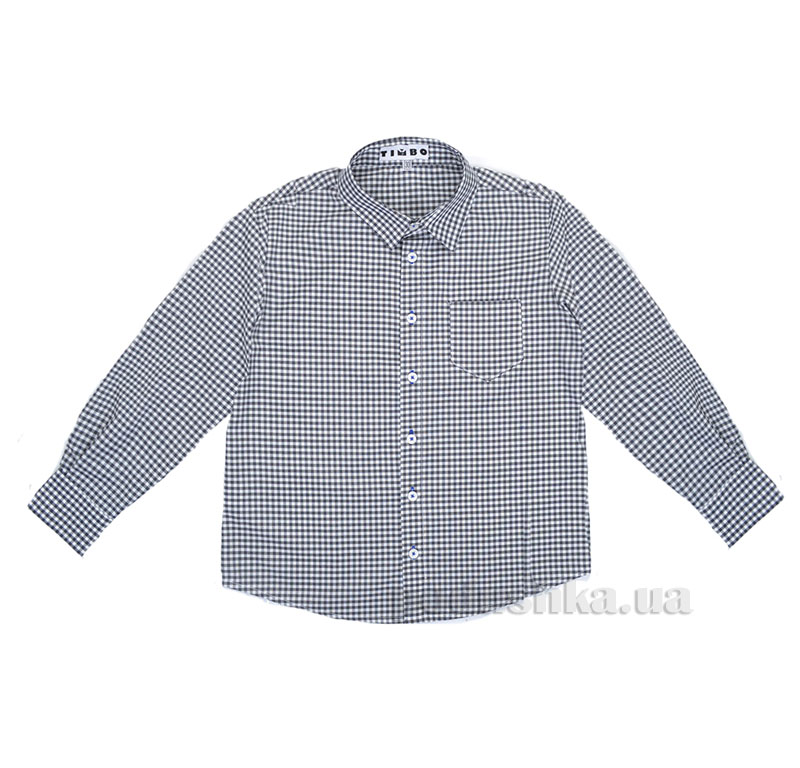Рубашка для мальчика  Gaston Timbo R025780 серая