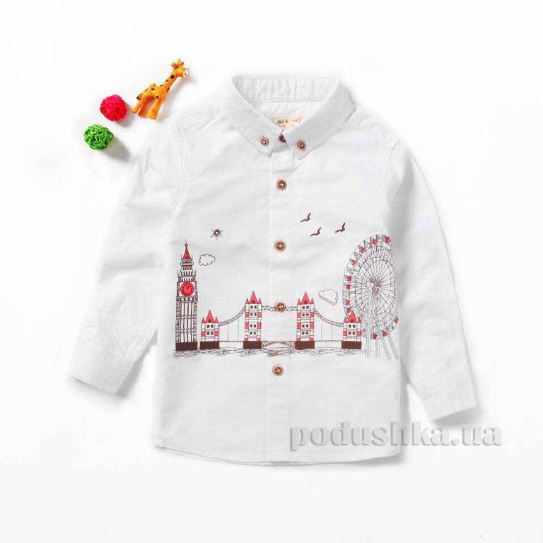 b504fce46df Рубашка для мальчика JBCK 7903 фланель белая купить в Киеве