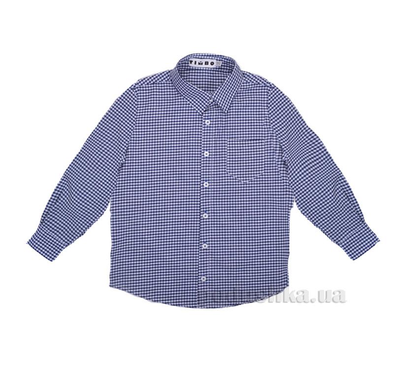 Рубашка для мальчика Ralph Timbo R025605 синяя