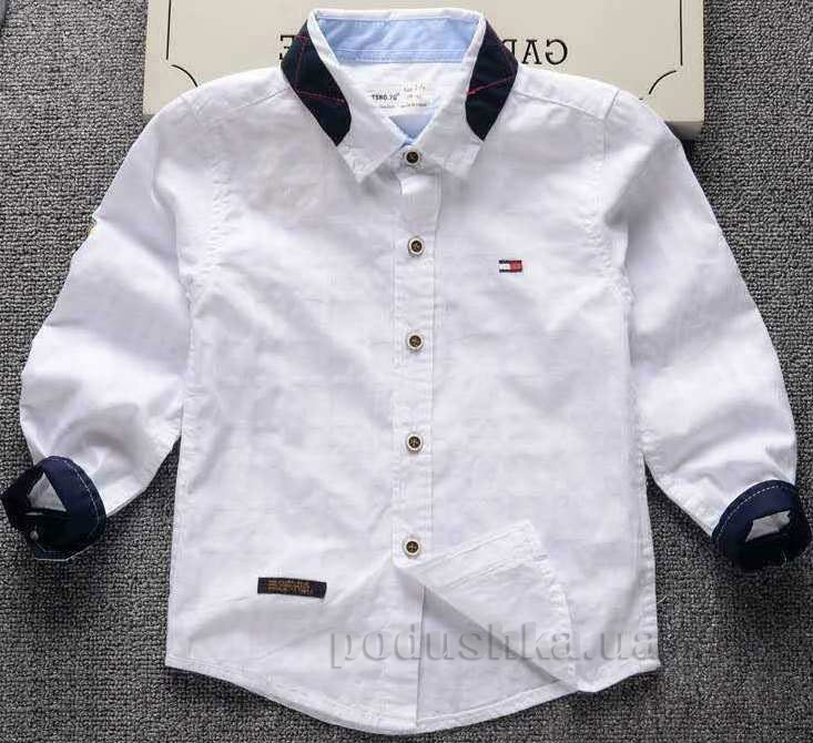 bee7c885f3d Рубашка для мальчика TSNO.7G 6987-804 белая с синим купить в Киеве ...