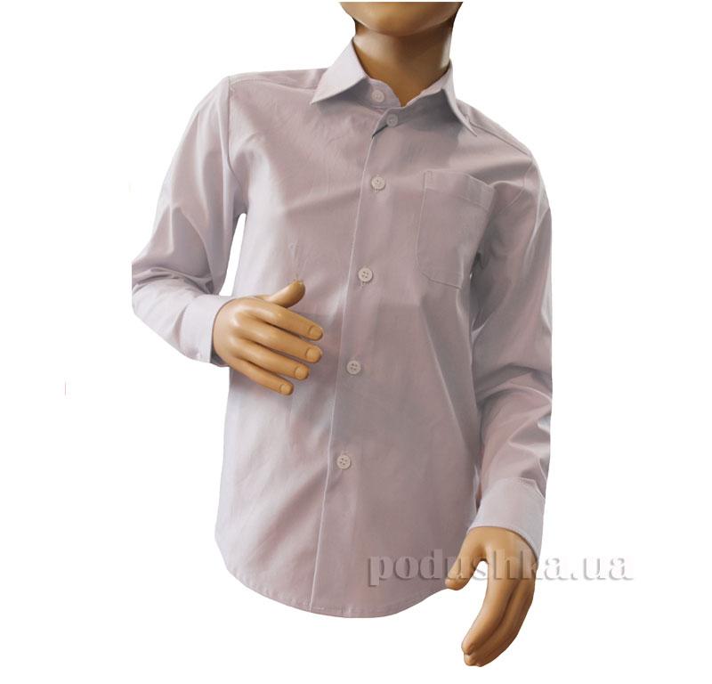 Рубашка классическая Промiнь ВД-0939 фиолетовая