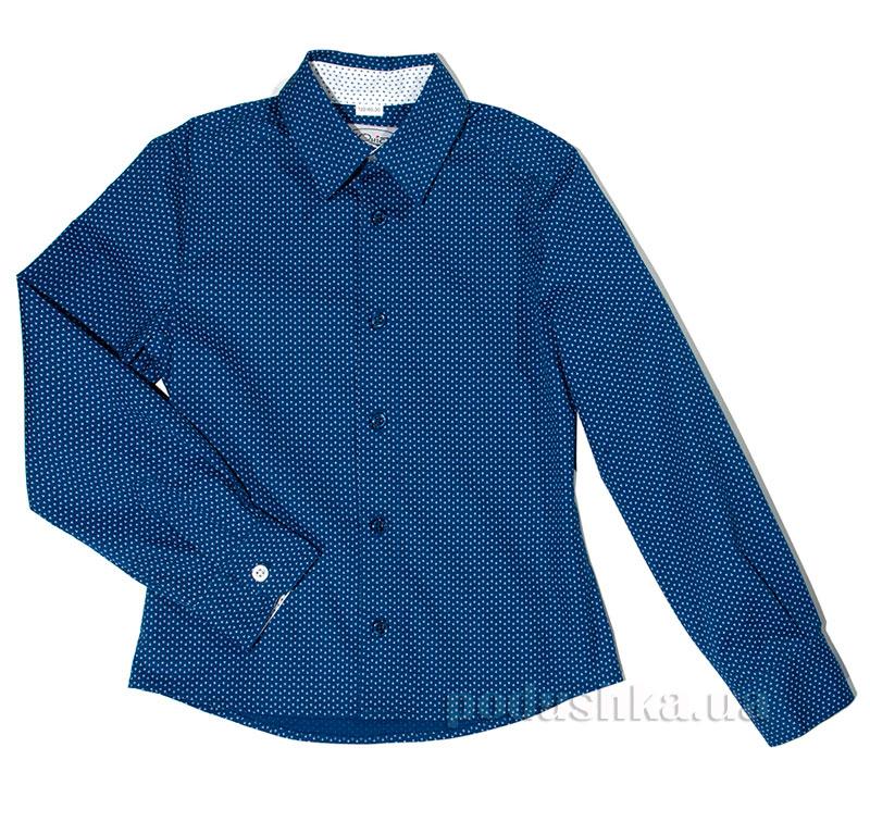 Рубашка подростковая Юность 307 синяя