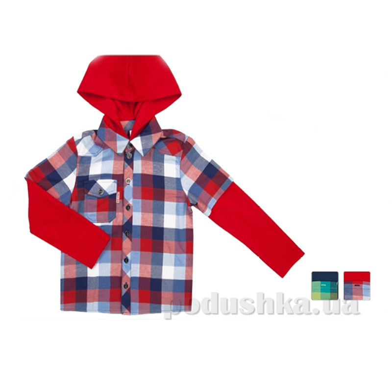 Рубашка с капюшоном для мальчика Bembi РБ43
