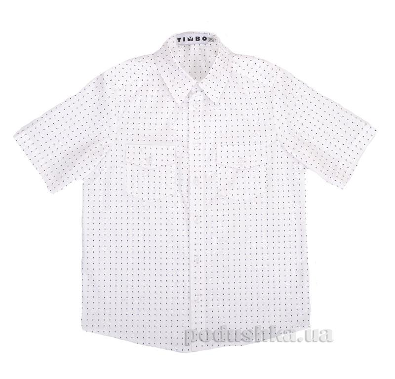 Рубашка с коротким рукавом Clark Timbo R010199 белая