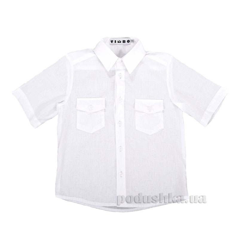 Рубашка с коротким рукавом Kristoff Timbo R010215 белая