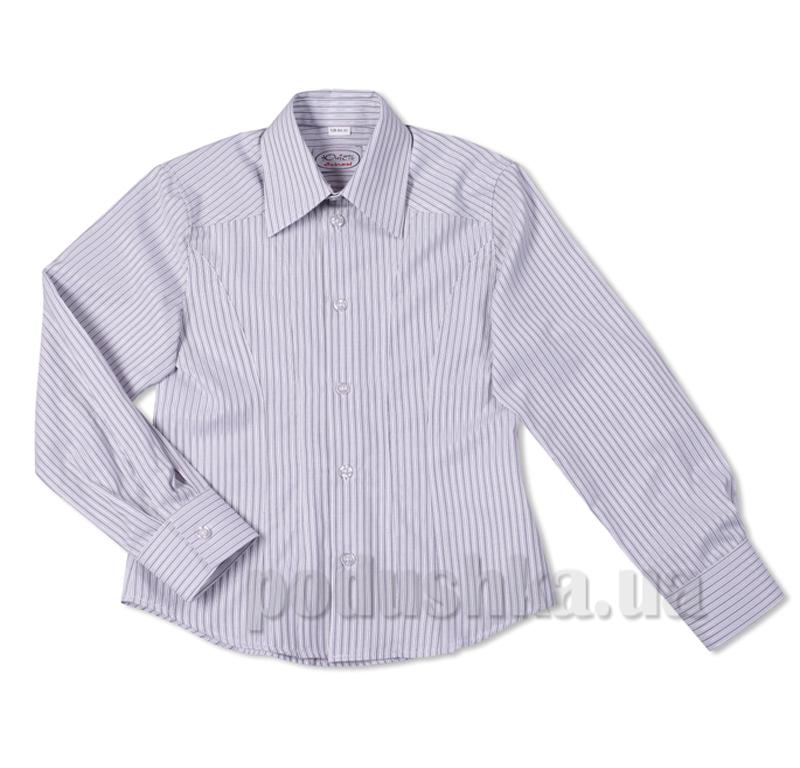 Рубашка серая приталенная Юность 147-М