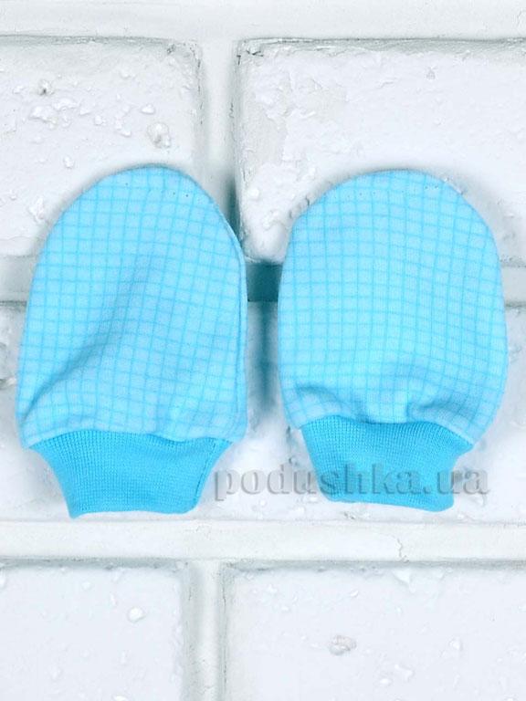 Рукавички для малышей Татошка 129011 голубые