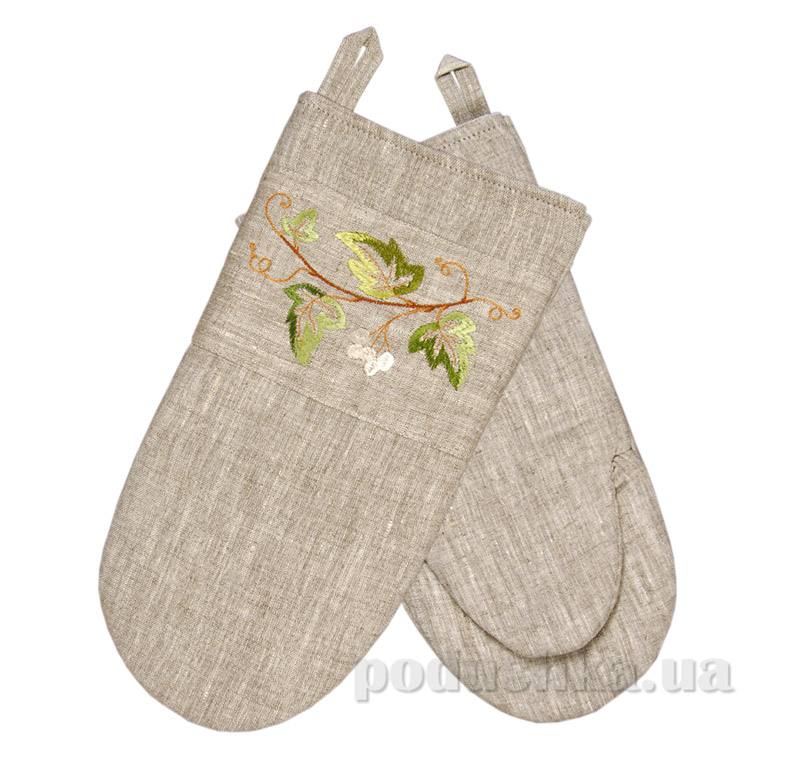 Рукавица с вышивкой Плющ Гармония
