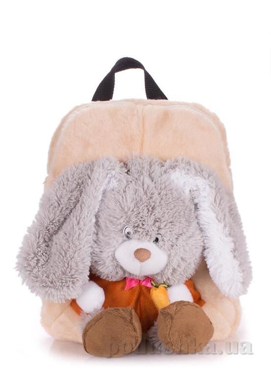 Рюкзак детский Poolparty Kiddy Кролик