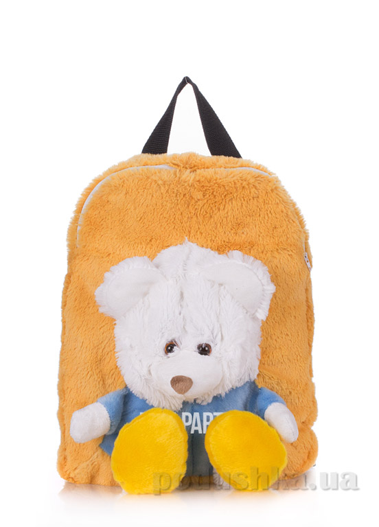 Рюкзак детский Poolparty Kiddy Медвежонок