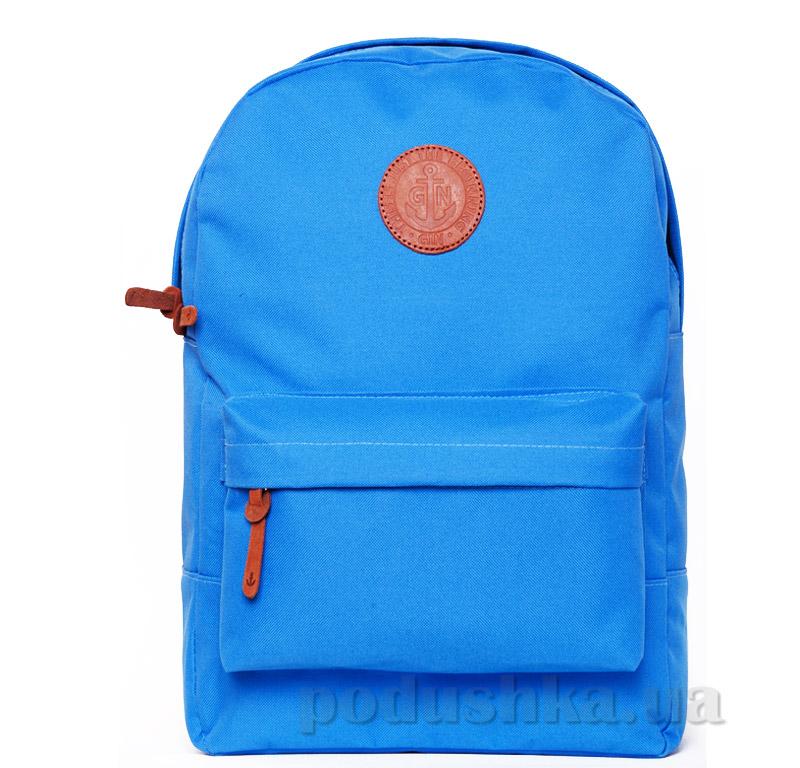 Рюкзак для города Gin Бронкс без вставки винила голубой