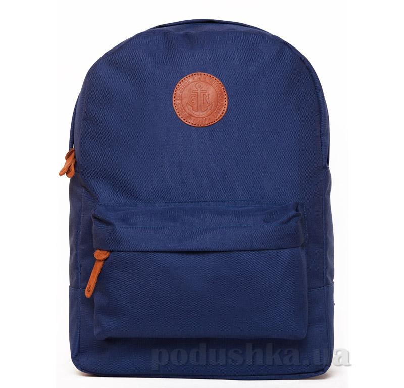 Рюкзак для города Gin Бронкс без вставки винила синий