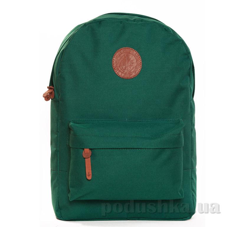 Рюкзак для города Gin Бронкс без вставки винила зеленый