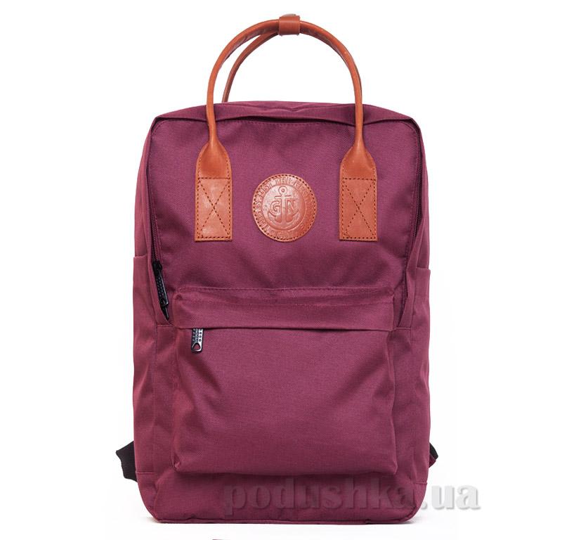 Рюкзак для города Том Коллинз Gin бордовый