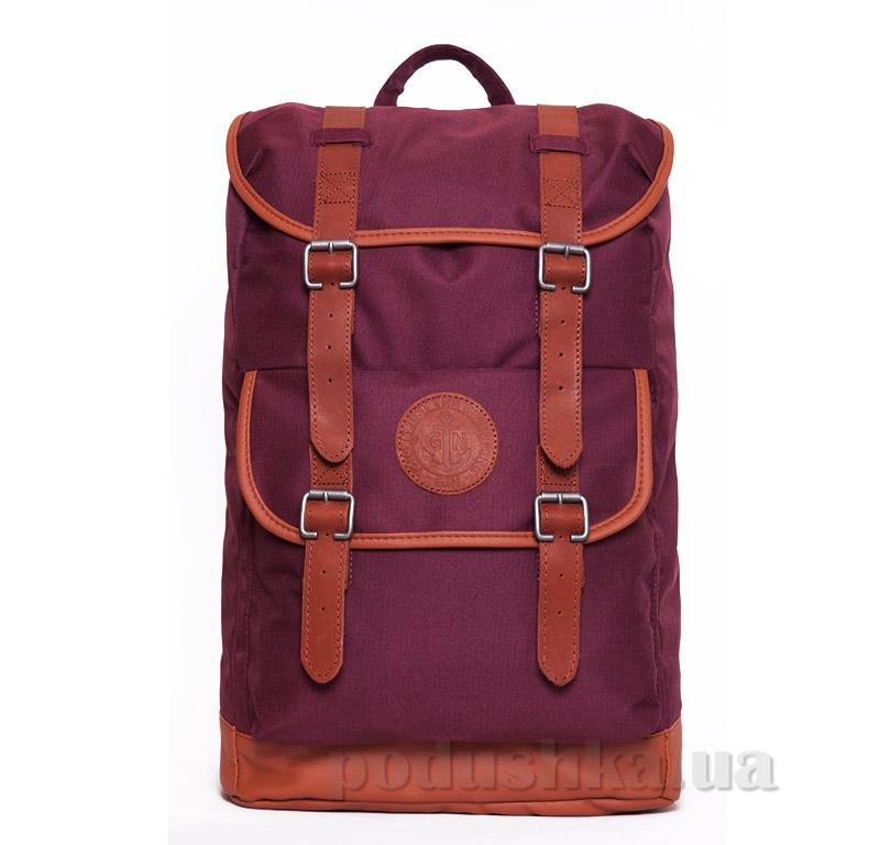 Рюкзак для города Веспер Gin бордовый