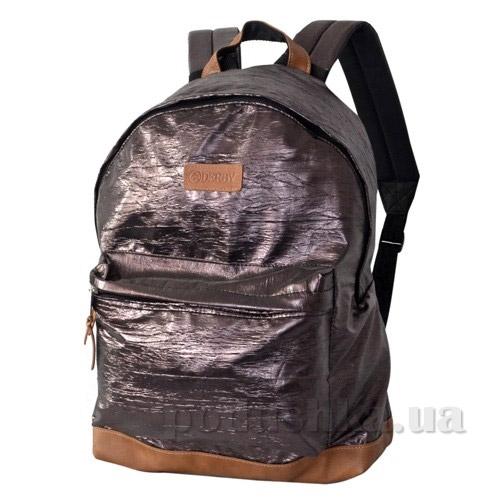 Рюкзак для ноутбука Derby Классика жатый 0100596,01 коричневый