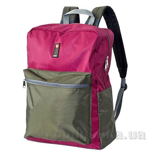 Рюкзак для ноутбука Derby Соло-420 0100605,13 хаки-фуксия